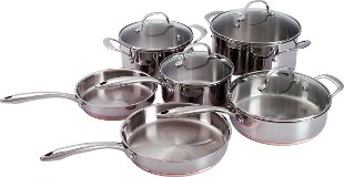 Kenmore 10pc Stainless Steel Cookware Set Coupons